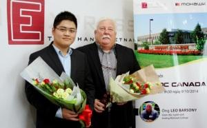 Justin Nguyen and Leo Barsony